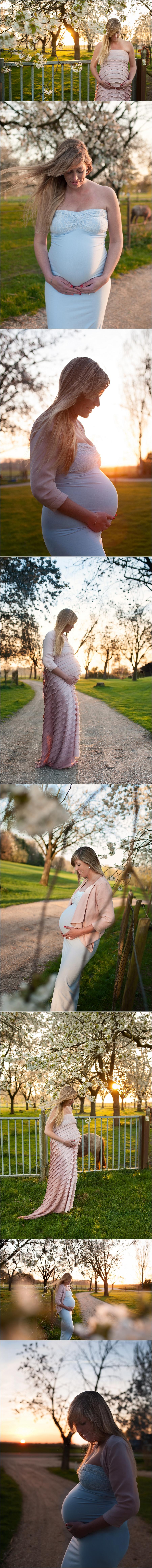 Tanja 36 weken zwanger - Zwanger fotoshoot Eerbeek