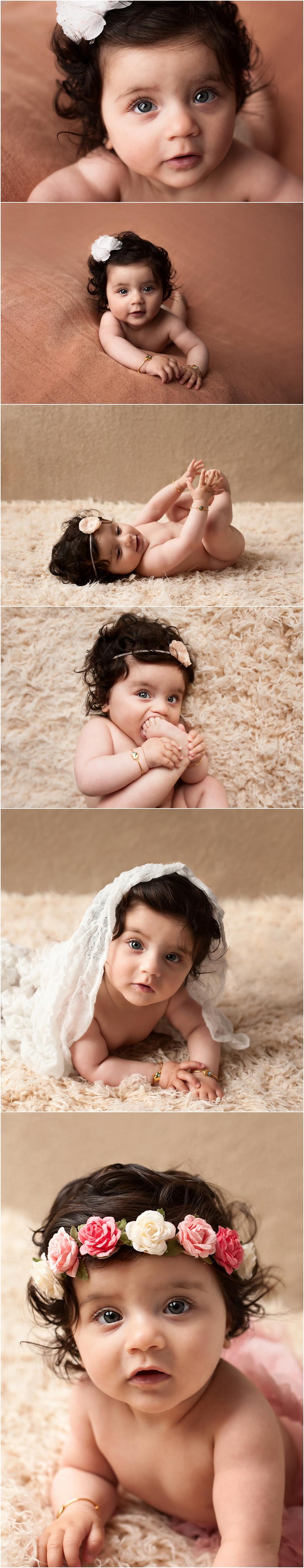 Feid 7 maanden - Baby fotoshoot Arnhem