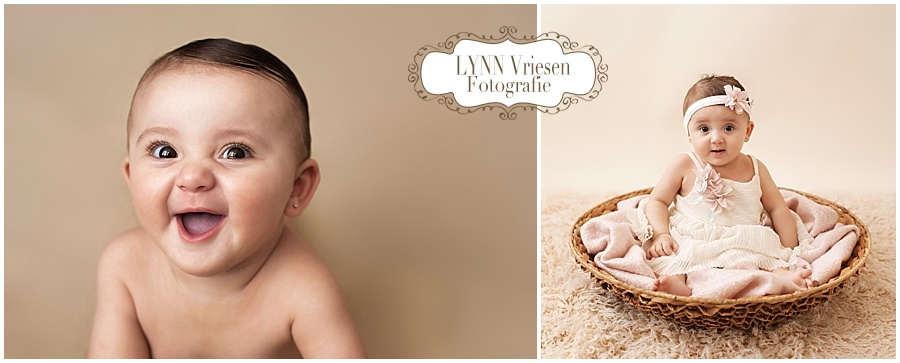 Maryam 8 maanden - Baby fotograaf Arnhem