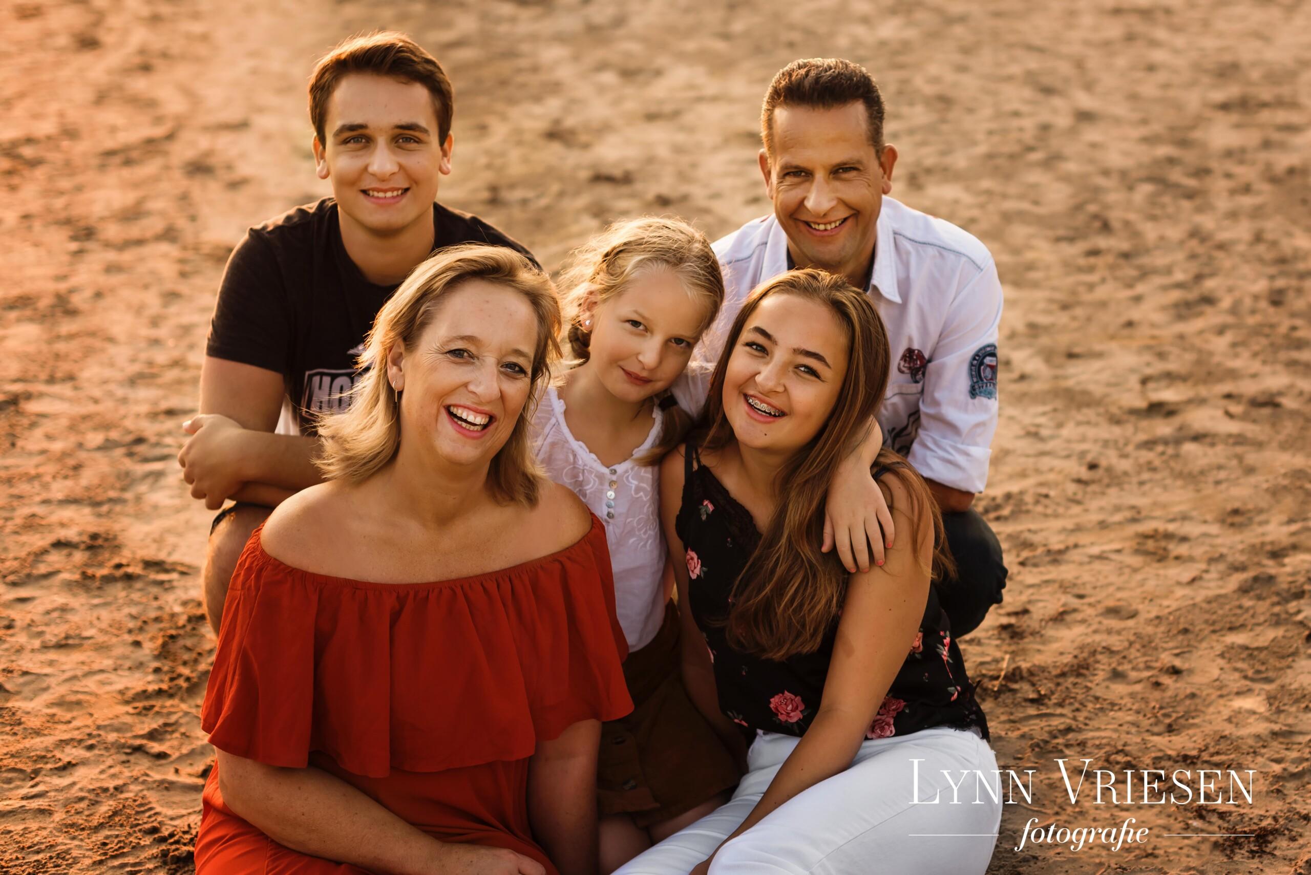 Met gezin op de foto Arnhem