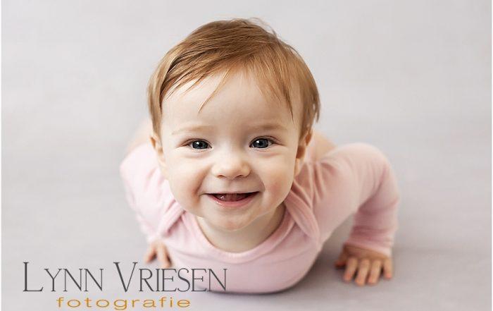 Little Miss M. 9 maanden - Baby fotografie Arnhem