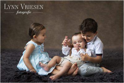Alle kindjes op de foto - Baby's eerste jaar