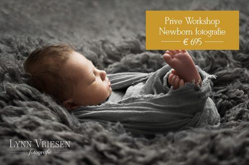 Prive workshop newborn fotografie