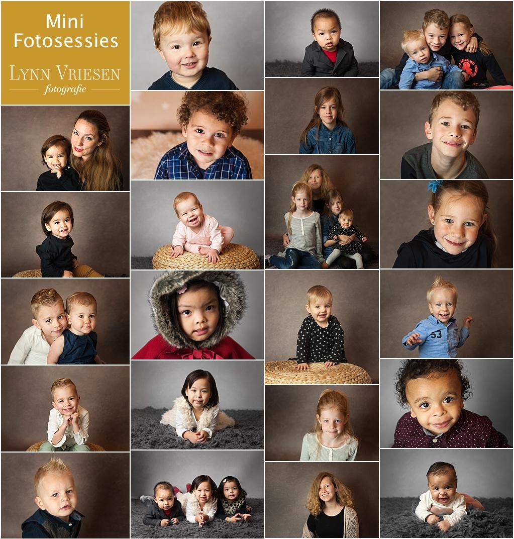 Mini fotosessies oktober 2017