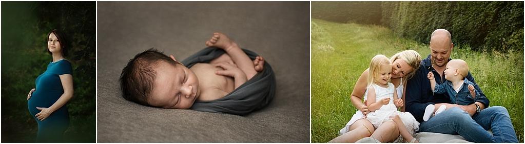 Tarieven fotoshoot zwanger newborn gezin