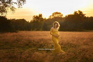 Liane zwanger fotosessie Arnhem