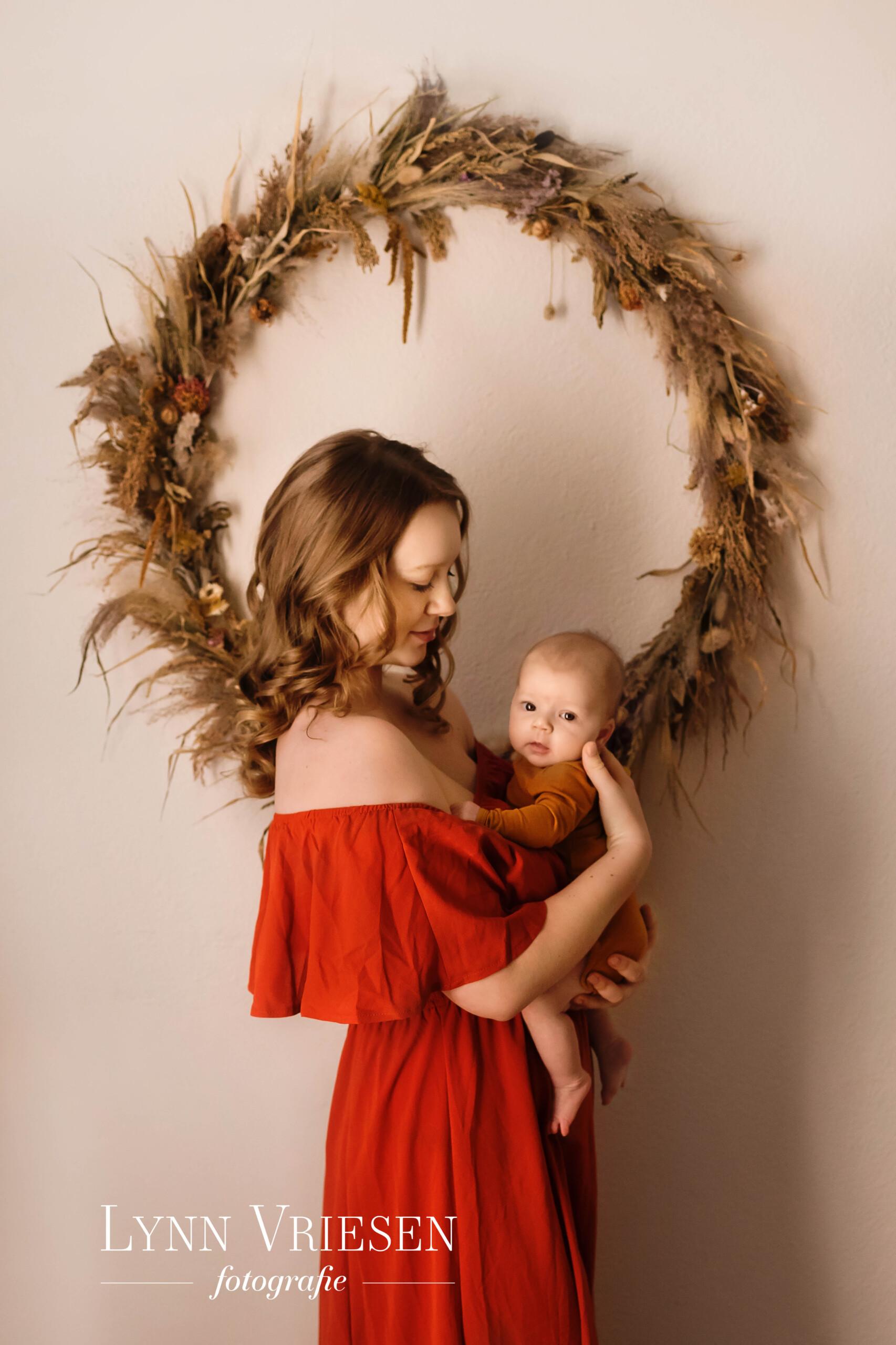 Alison newborn fotoshoot 7 weken Utrecht