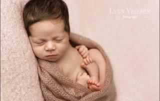 Lizz 17 dagen - newborn fotograaf Arnhem