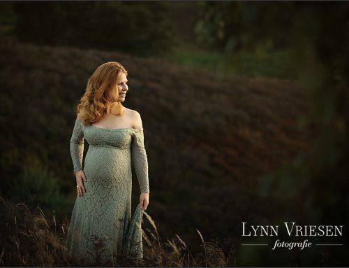 Kristel 33 weken – Zwanger fotoshoot Velp