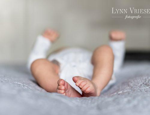 Maxime 5 weken – Newborn lifestyle fotoshoot