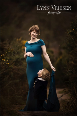 Eva 35 weken - zwanger fotoshoot Ellecom