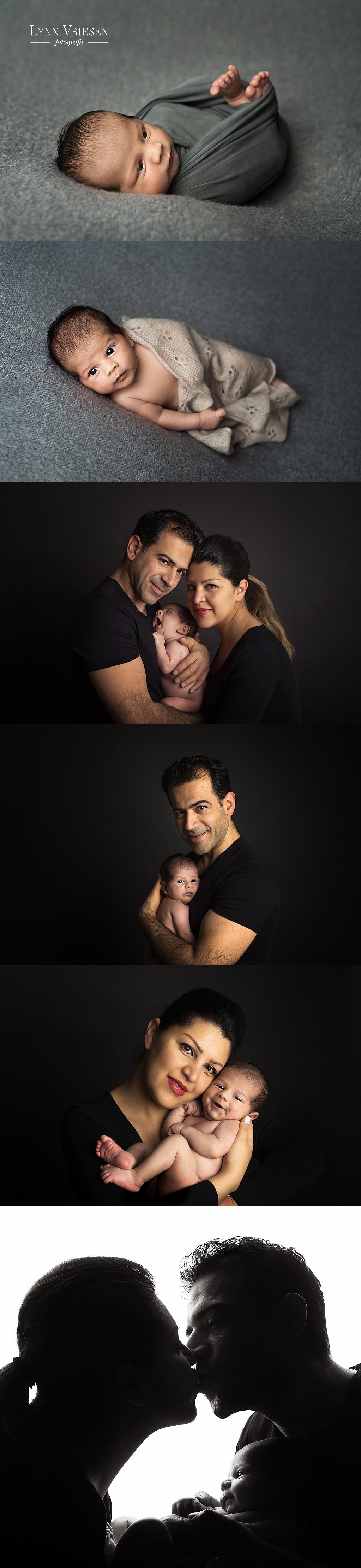 Ryan 3 weken - Newborn fotoshoot Driel
