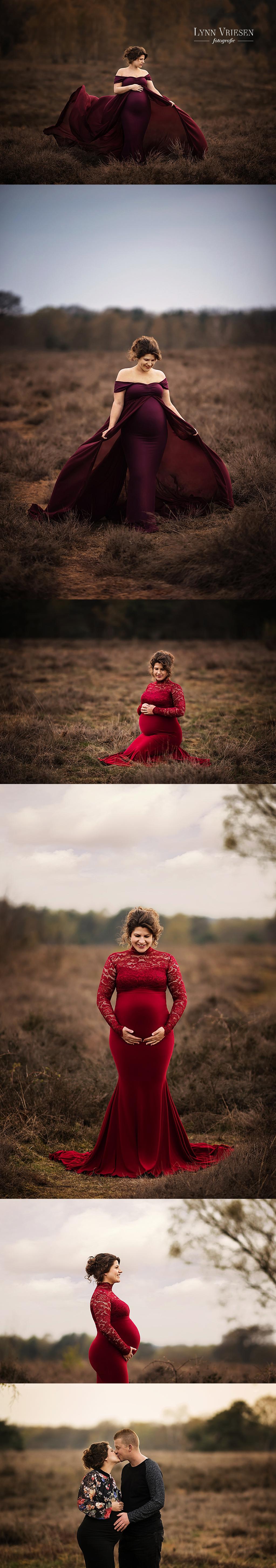 Janita 34 weken - zwanger fotoshoot Dodewaard