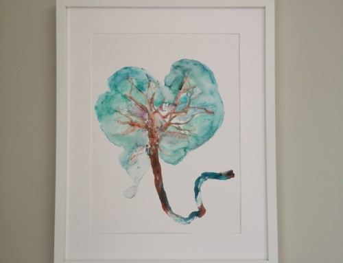Interview Sarah Mathijs – Tree of Life Placenta Art