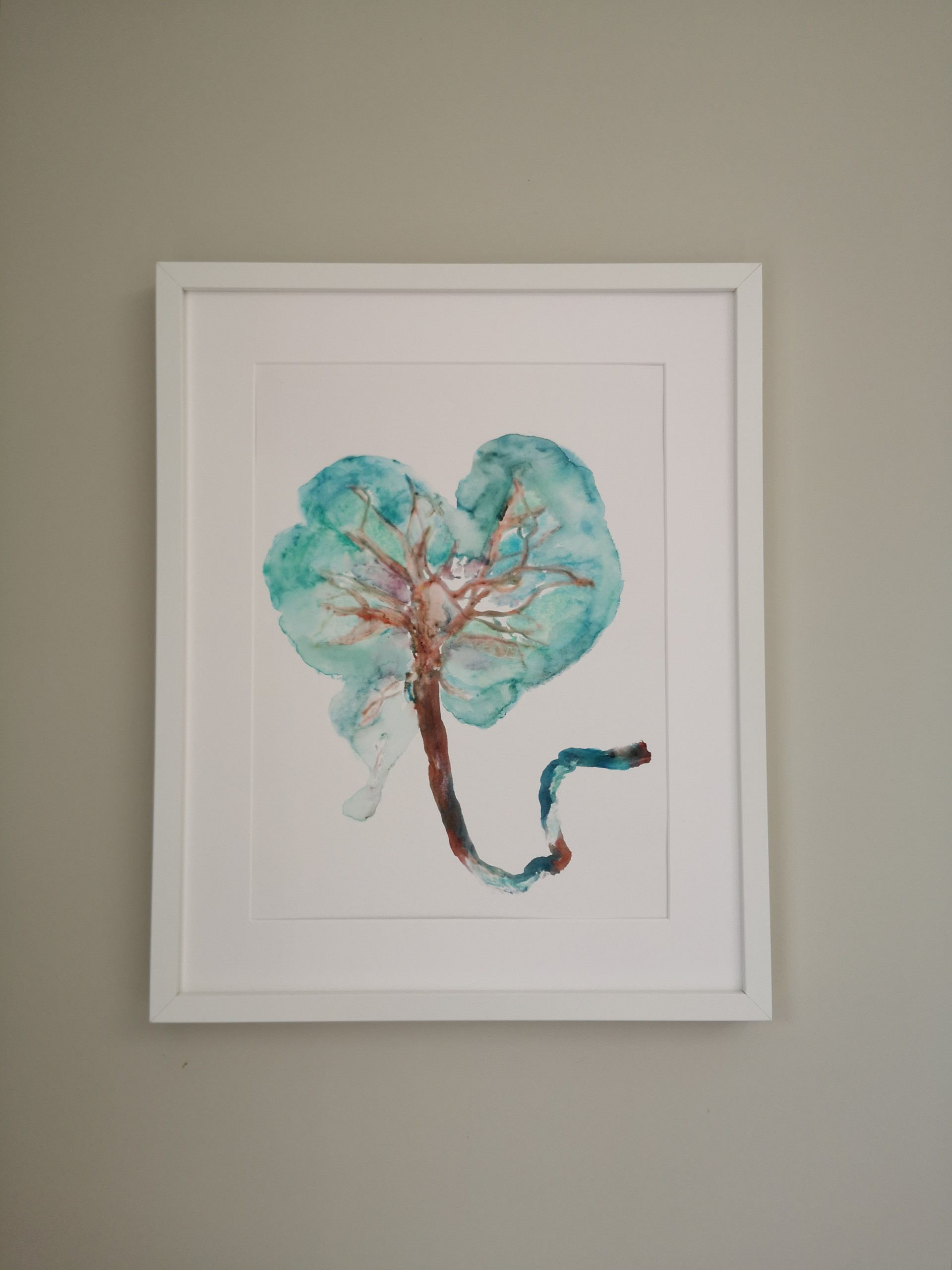 Tree of Life Placenta Art