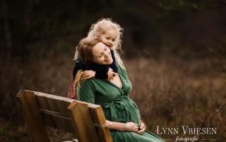 Yvette 35 weken - Zwanger fotoshoot Renkum