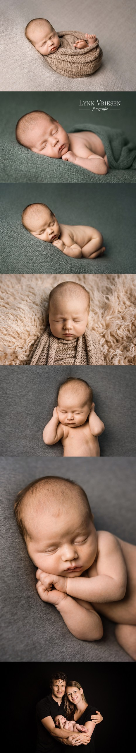 Seth 18 dagen - Newborn fotograaf Lent