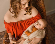 Alison 7 weken - newborn fotoshoot Utrecht