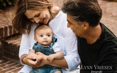 Fotoshoot gezin met baby in Arnhem