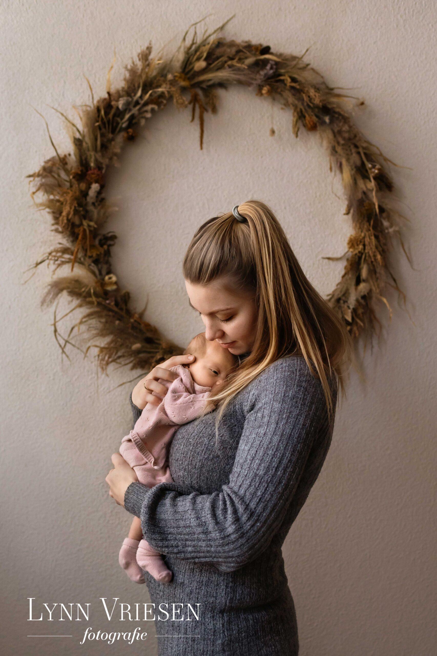 Newborn fotoshoot Wageningen