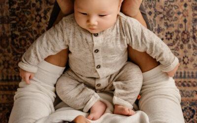 Vince 16 dagen – newborn fotoshoot Wijchen