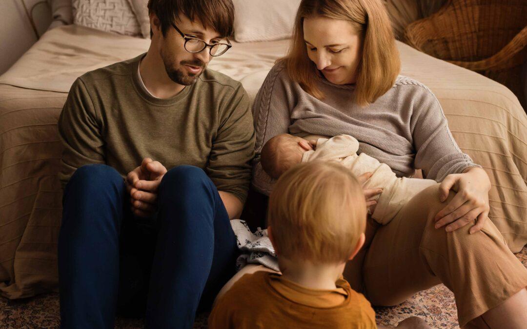 Eva 2 weken oud – Newborn fotosessie Arnhem